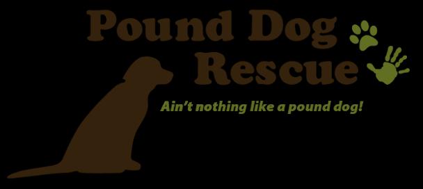 Pound Dog Rescue logo